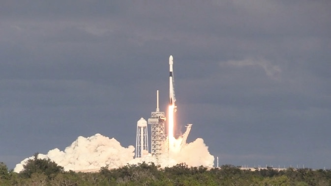 Live coverage: SpaceX launches communications satellite for
