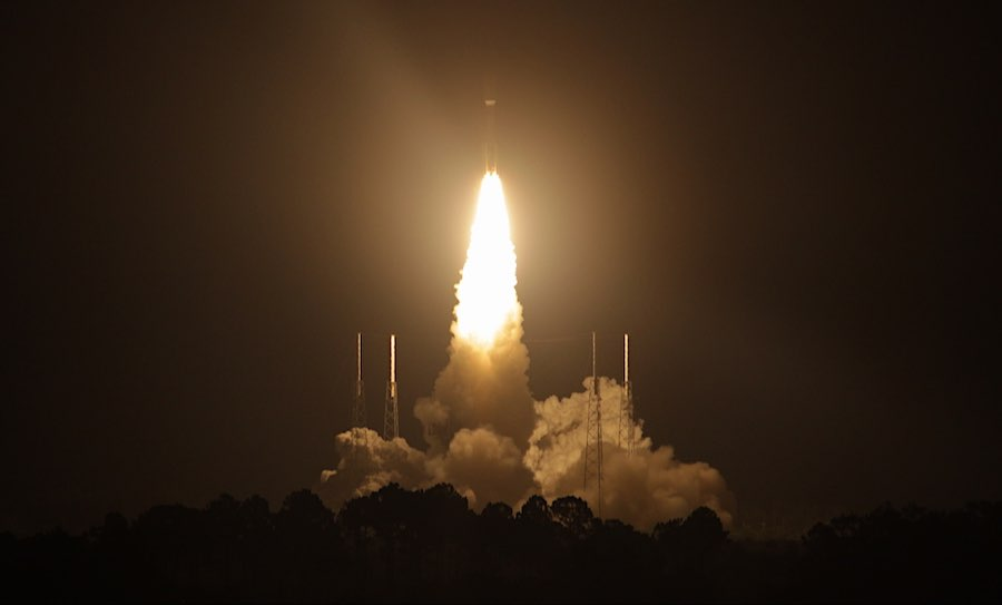 Live coverage: Atlas 5 rocket blasts off from Cape Canaveral